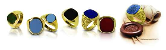Signet Ring Styles and Shapes