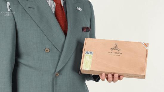 Montecristo Cedar box