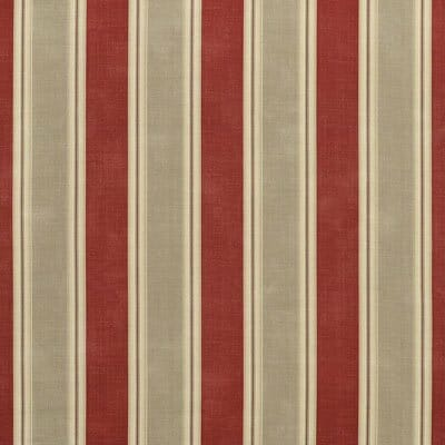 An example of collegiate stripes, in red and grey.