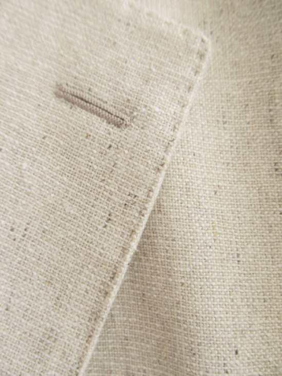 Cream Jacket Fabric