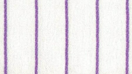 An example of chalk stripes in violet.