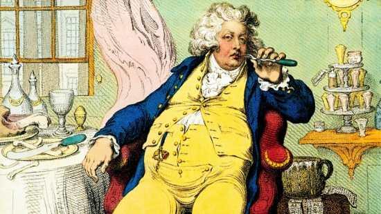 The future George IV