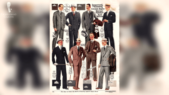 Popular work wear during the 20's-30's