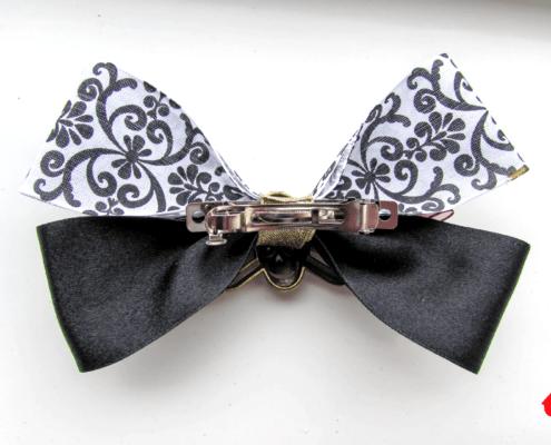 Pre-Tied Bow Tie with clip