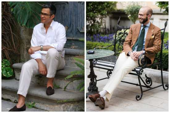 Two Approaches to Contrasting Off-White