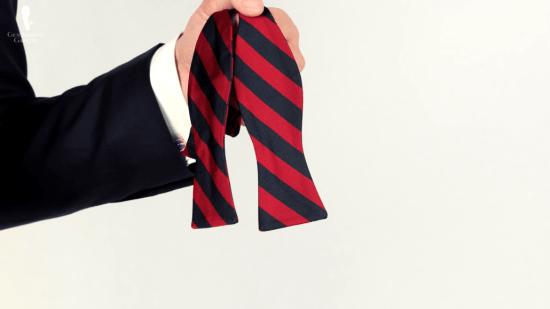 repp stripe inspired bow tie