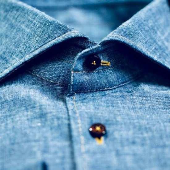 Denim shirt from Donato Liquori