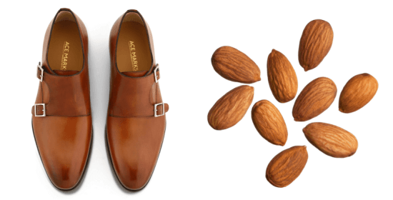 Almond-toe monk strap from Ace Marks