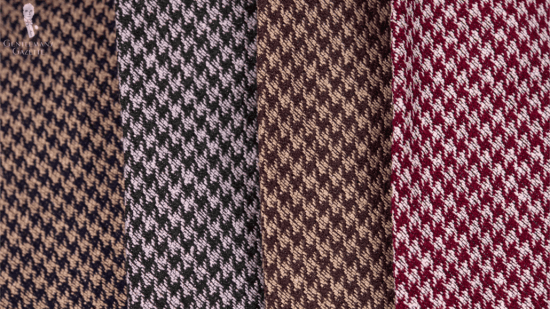 Fort Belvedere Houndstooth ties