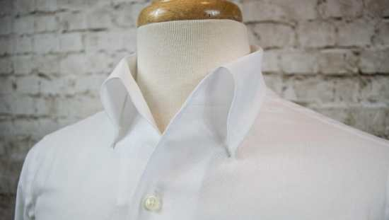 One-piece collar shirt