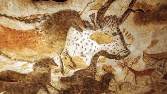cave painting in Lascaux France