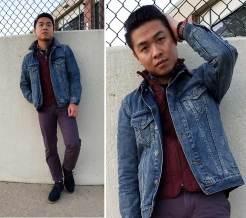 Denim Jacket Layered Up Look | GENTLEMAN WITHIN