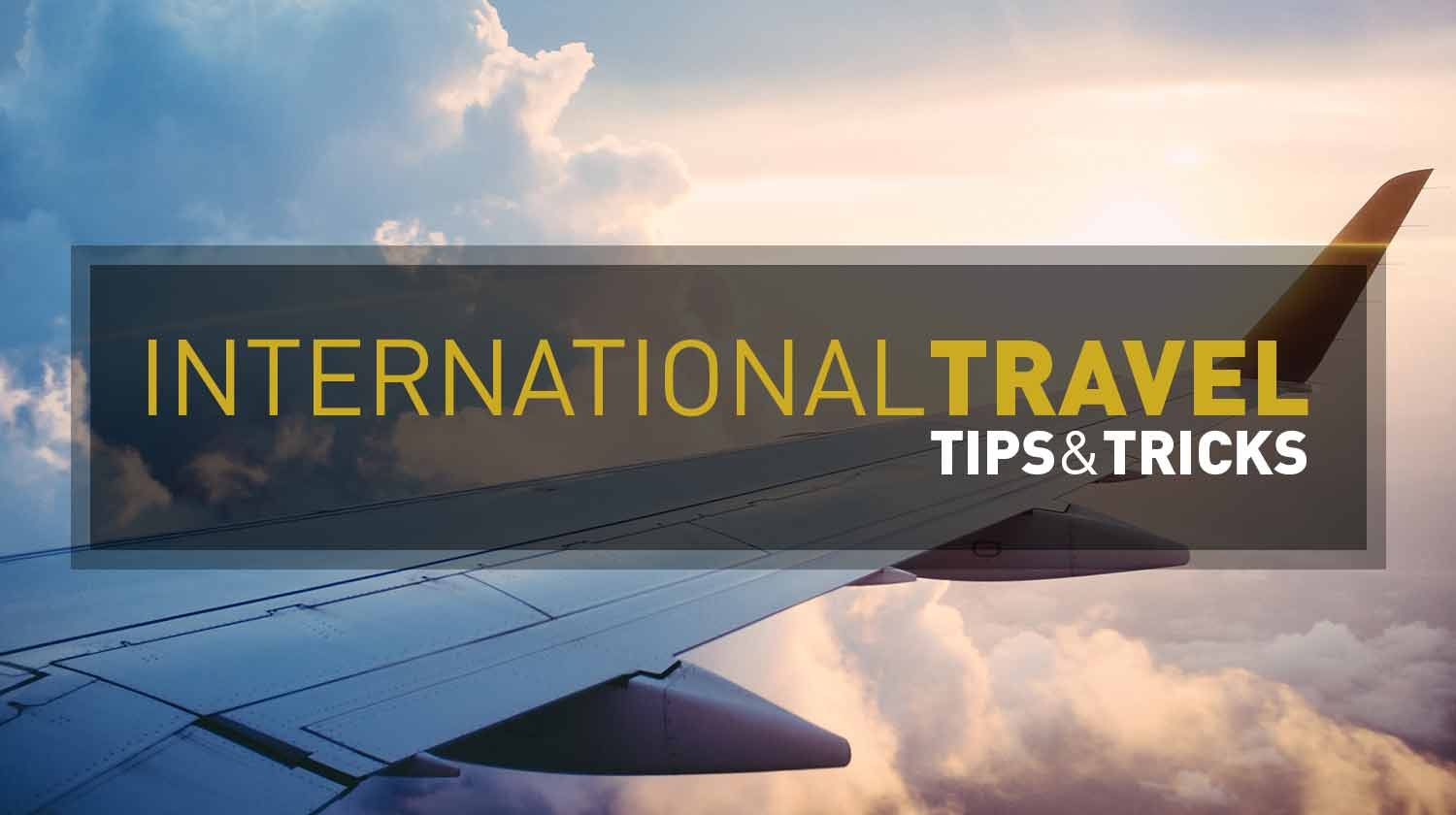 Packing For A Trip Abroad - International Travel Tips & Tricks | GENTLEMAN WITHIN