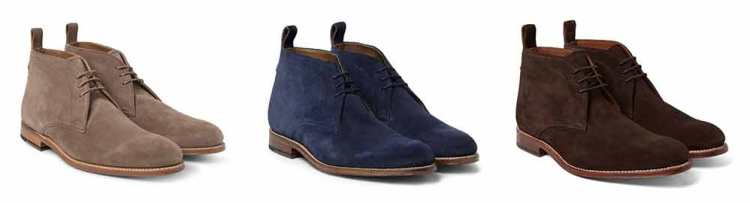 Suede Chukkas Expensive