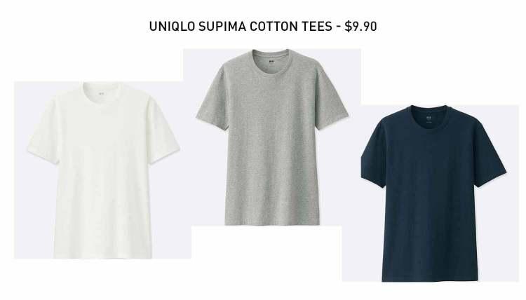 UNIQLO Supima Cotton T-Shirts