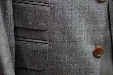 Flap Pocket And Ticket Pocket Detail