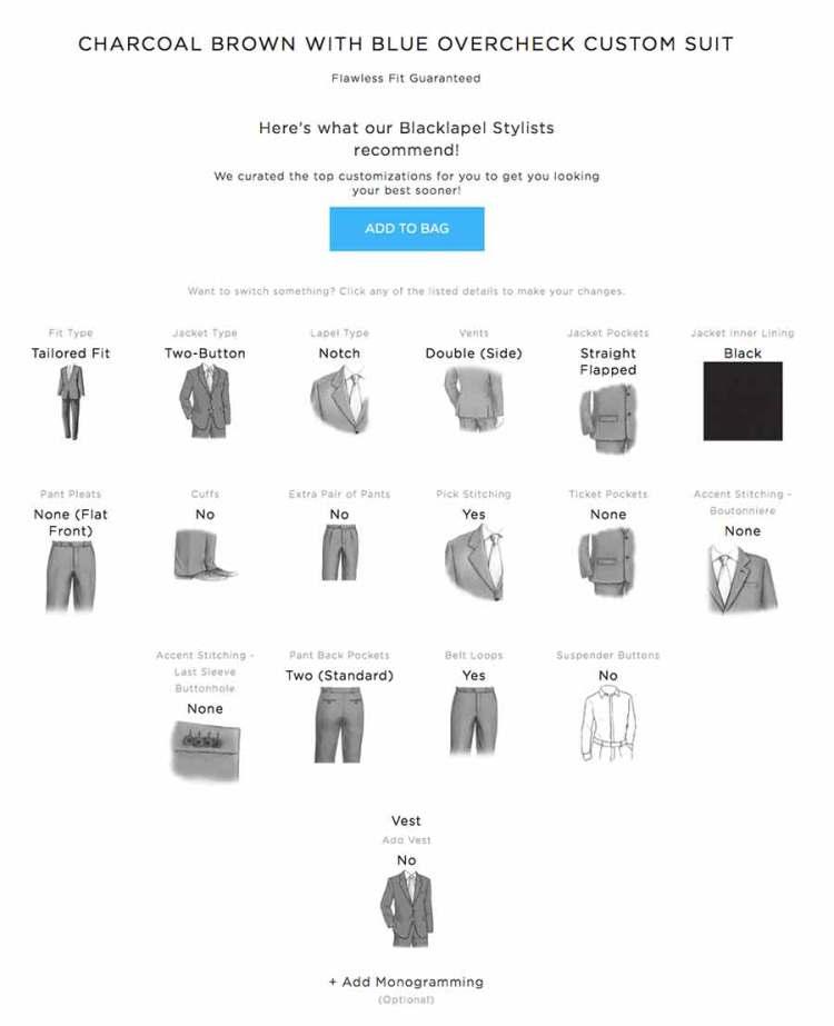 black lapel stylists recommendations