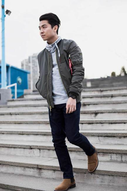 Bomber Jacket Outfit Inspo 9