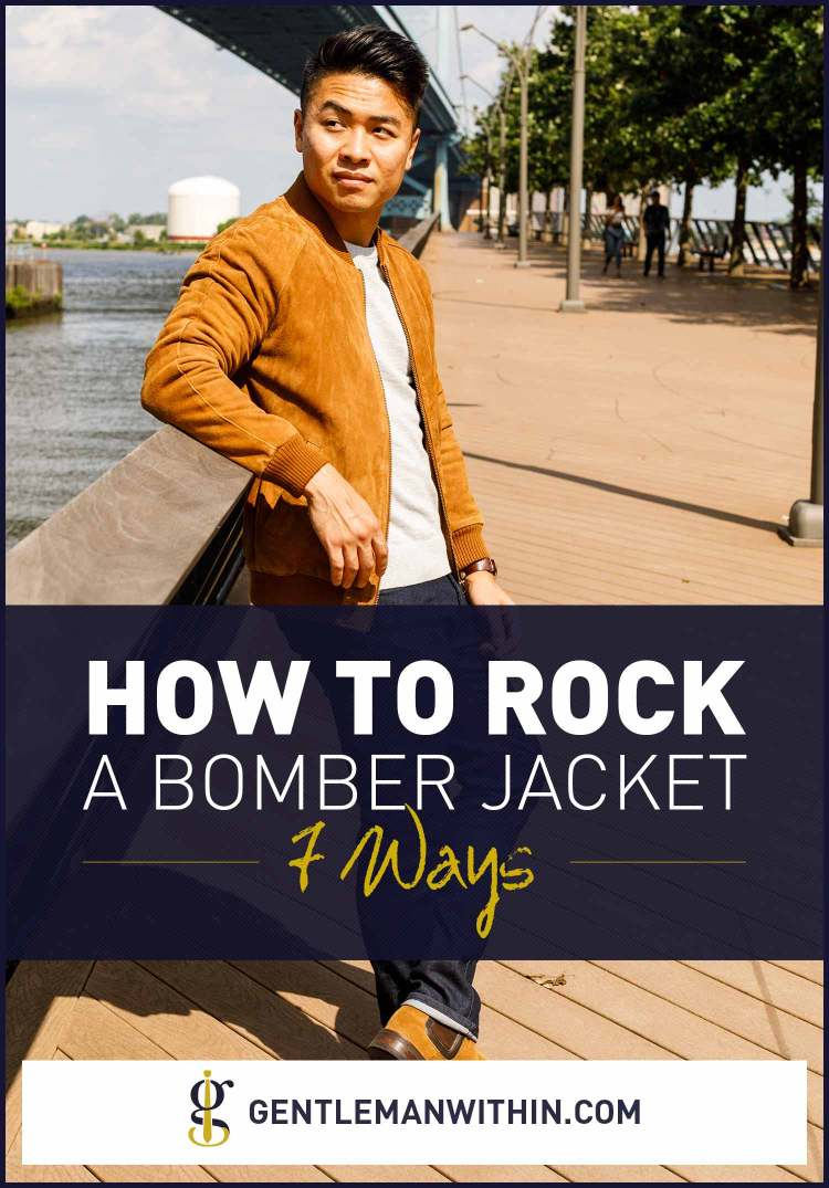 How To Wear A Bomber Jacket | GENTLEMAN WITHIN