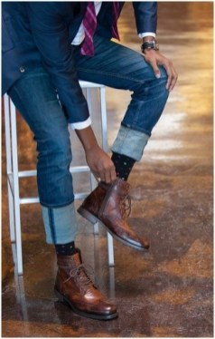 Brogue Dress Boot Look 5