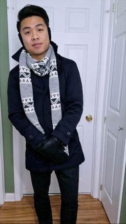 Car Coat w/Wool Trousers Look | GENTLEMAN WITHIN