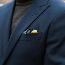 Rampley And Co Pocket Square Details 1 | GENTLEMAN WITHIN