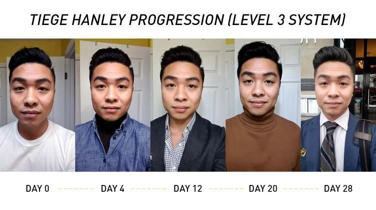 Tiege Hanley 1 Month Progression   GENTLEMAN WITHIN
