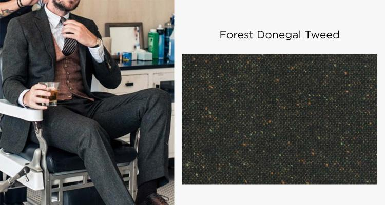 AoS Forest Donegal Tweed Suit | GENTLEMAN WITHIN