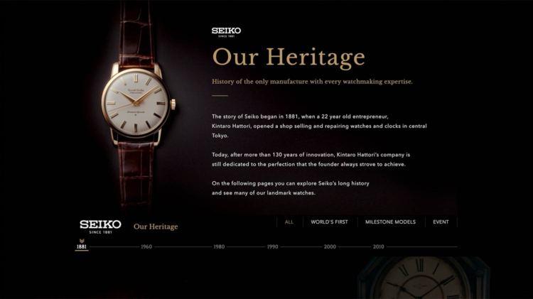 Seiko Heritage   GENTLEMAN WITHIN
