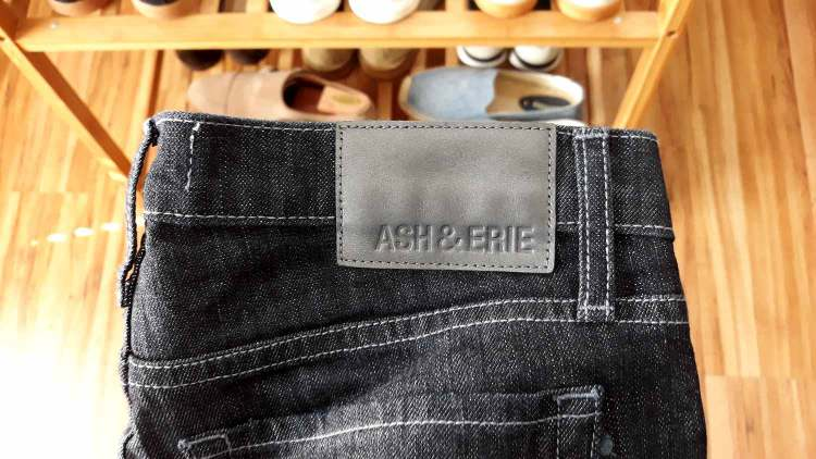 Ash and Erie Indigo Jeans