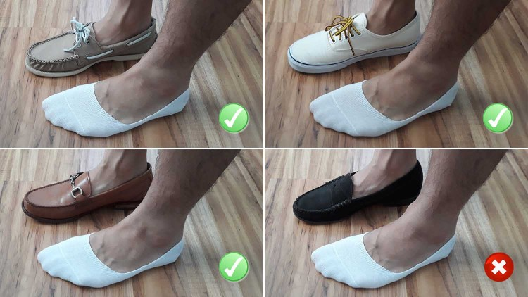 Falke No Show Sock Test