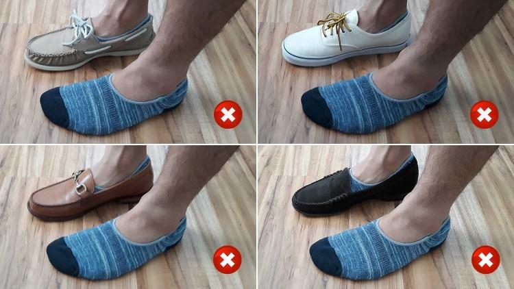 Mack Weldon No Show Sock Test