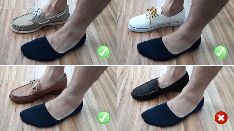 5 Pack Mens Five Finger Toe Loafer Boat Socks Cotton Invisible Nonslip No Show
