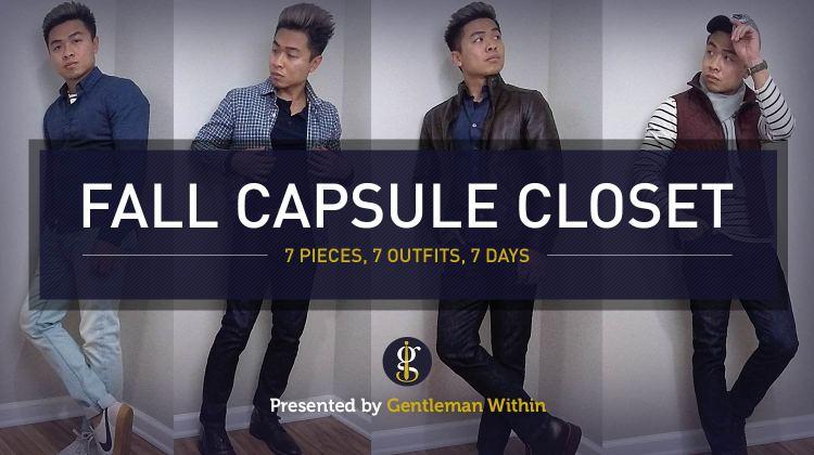 Fall Capsule Wardrobe for Stylish Men | GENTLEMAN WITHIN
