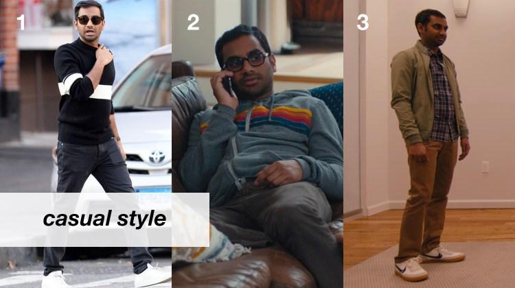 Aziz Ansari Casual Style