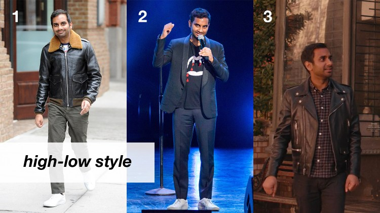 Aziz Ansari High Low Style