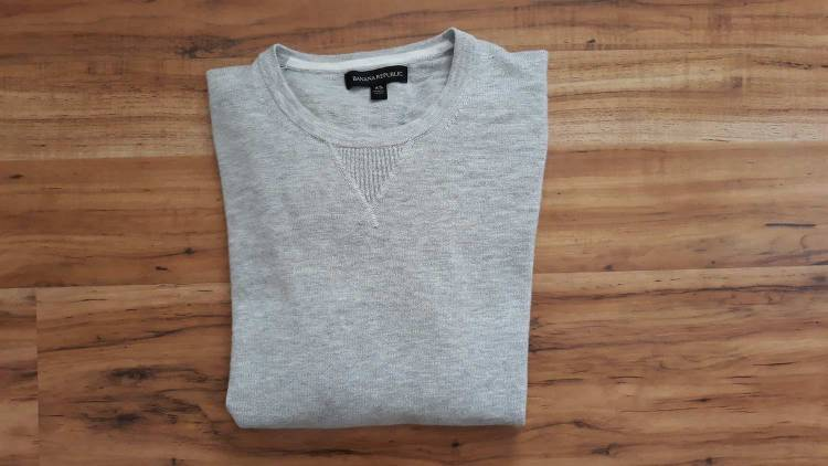 Banana Republic Terry Crew Sweatshirt