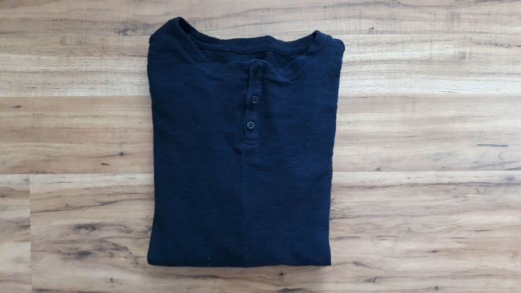 Forever 21 Men Navy Henley