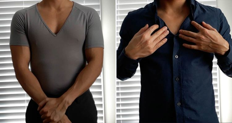 How To Wear A Undershirt