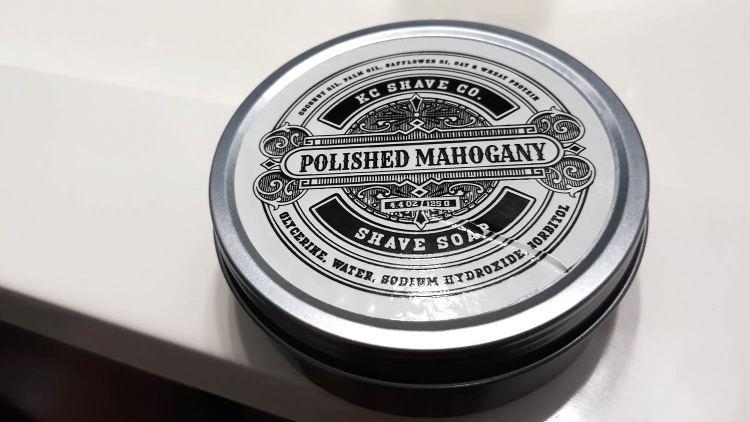 KC Shave Co Polished Mahogony Shave Soap