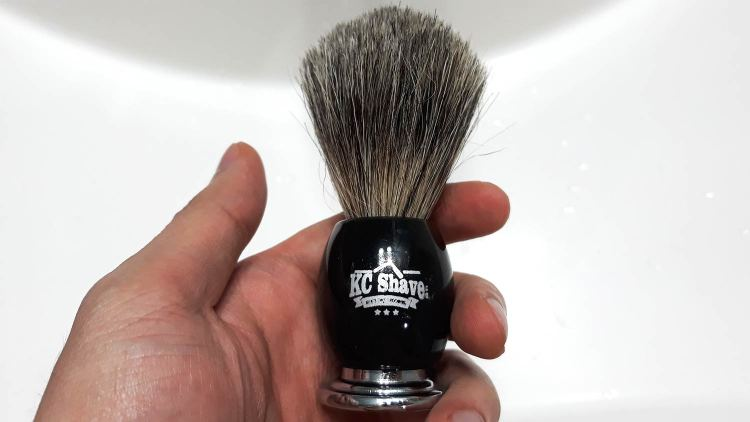 KC Shave Co Synthetic Shave Brush