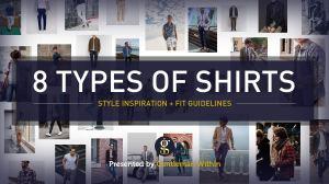 Types of Shirt for Men | GENTLEMAN WITHIN
