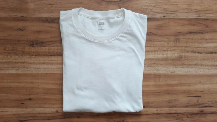 UNIQLO Supima Cotton White T-Shirt
