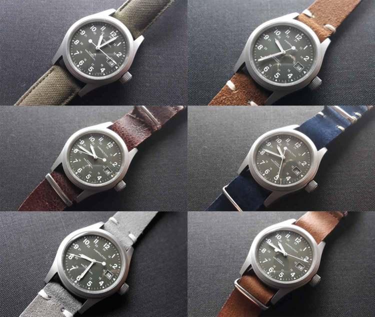 Hamilton Khaki Field Watch Strap Versatility