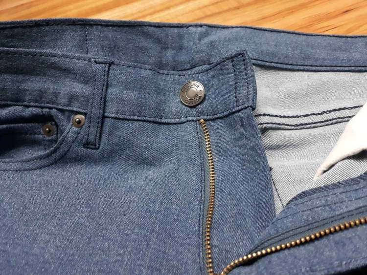 MTailor Jeans Button and Zipper
