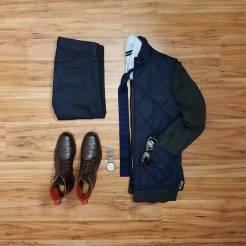 How To Wear A Casual Vest Flatlay 3