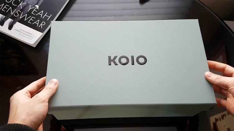 Koio Sneakers Packaging Box