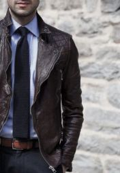 Leather Jacket Outfit Inspo 1