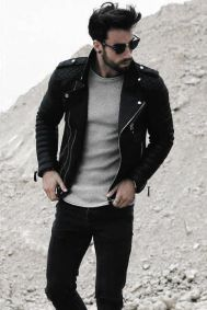Leather Jacket Outfit Inspo 3