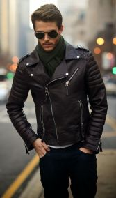 Leather Jacket Outfit Inspo 4